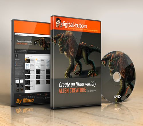 Digital - Tutors - Designing Otherworldly Creatures in Photoshop