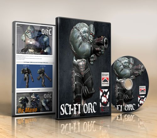 Dexsoft – Sci-Fi ORC animated character