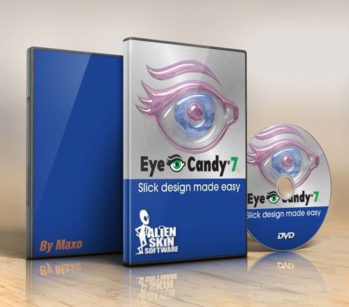 Alien Skin Eye Candy v7.0.0.1104 For Adobe Photoshop x86/64Bit