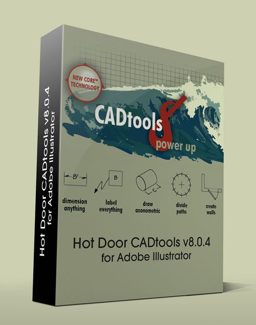Hot Door CADtools v8.0.4 for Adobe Illustrator