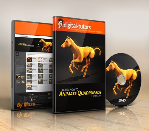 Digital - Tutors - Animating Quadrupeds in CINEMA 4D