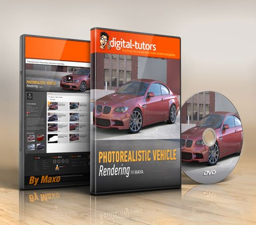 Digital - Tutors - Professional Series: Photorealistic Vehicle Rendering in Maya