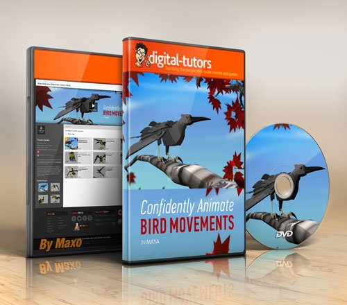 Digital - Tutors - Maya Animation Reference Library: Birds