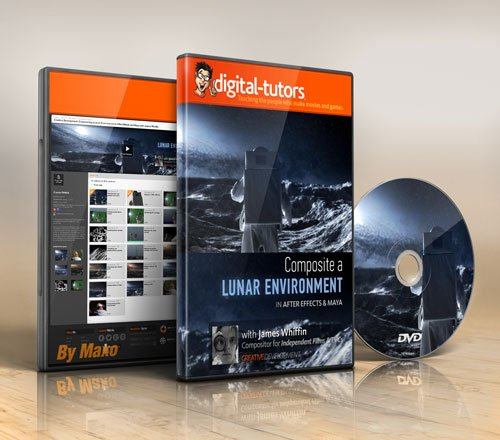 Digital - Tutors - Creative Development: Compositing a Lunar Environment in After Effects and Maya