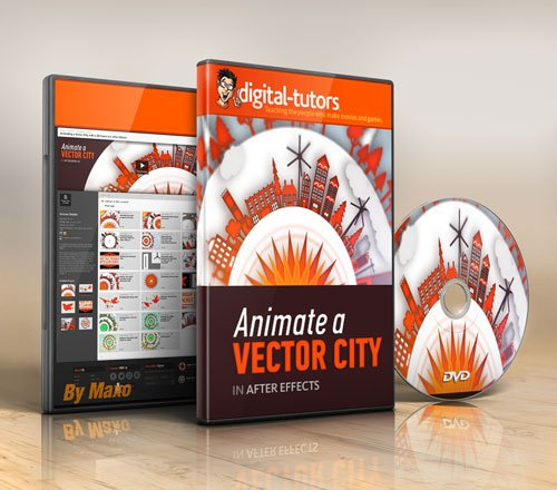 Digital - Tutors - Animating a Vector City with a 3D Camera in After Effects