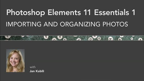 Photoshop Elements 11 Essentials 1: Importing and Organizing Photos