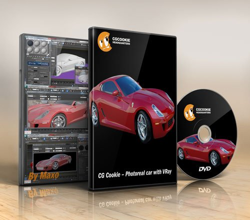 CG Cookie – Photoreal car with VRay