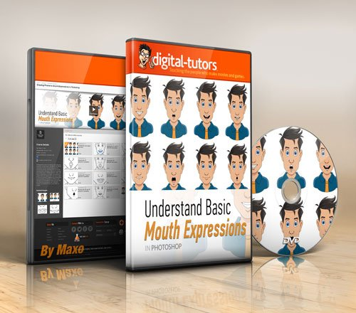 Digital - Tutors - Drawing Phoneme Mouth Expressions in Photoshop