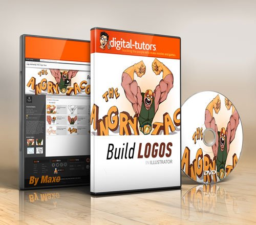 Digital - Tutors - Logo Workshop: The Angry Taco