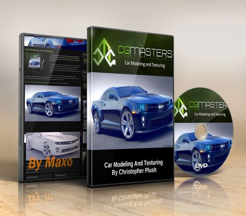 CG Masters – Car Modeling and Texturing