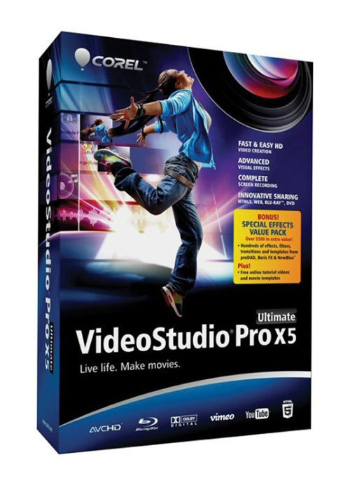 Corel VideoStudio Pro X5 Ultimate SP1 v15.1.0.34 + Bonus Pack