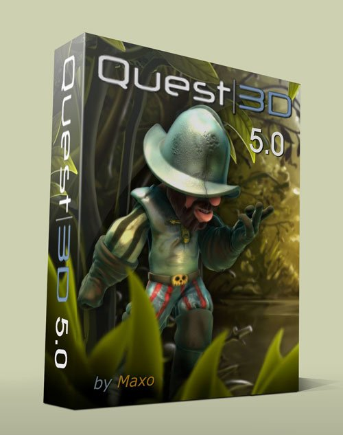 Quest3D 5.0 Power Edition x86/64Bit