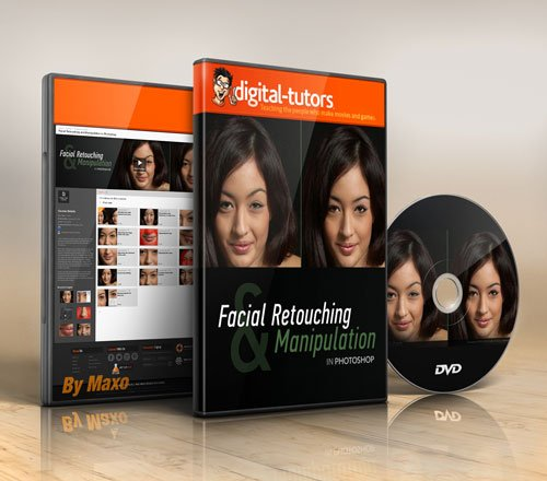 Digital - Tutors - Facial Retouching and Manipulation in Photoshop