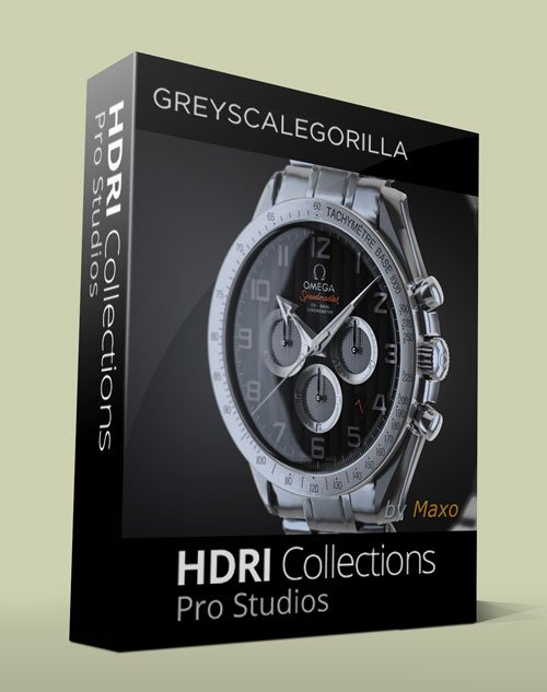 Greyscalegorilla HDRI Collections: Pro Studios For Cinema 4D