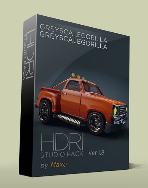 GreyscaleGorilla – HDRI Studio Pack v1.8 For Cinema 4D
