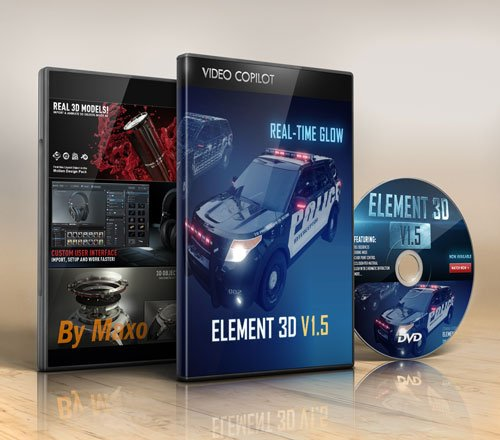 Video Copilot Element 3D v1.5 Win + Content