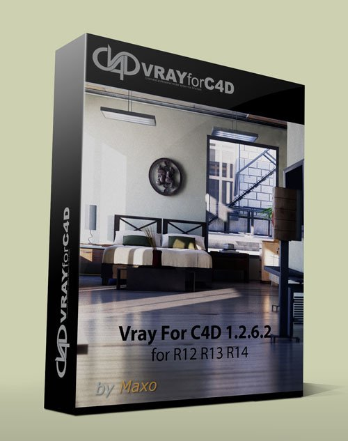 Vray For C4D 1.2.6.2 for R12 R13 R14 win x32/64Bit