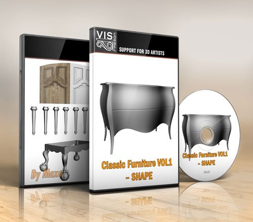 viscorbel - Classic Furniture VOL1 – SHAPE