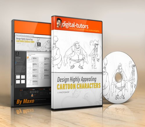 Digital - Tutors - Designing Appealing Cartoon Characters in Photoshop