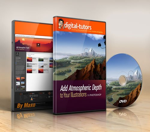 Digital - Tutors - Creating Atmospheric Depth for Illustrations in Photoshop