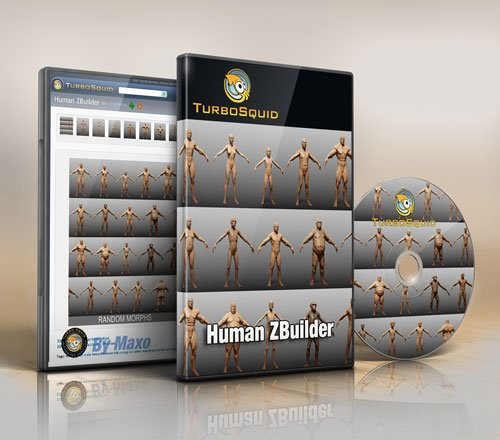 Turbosquid – Human Zbuilder
