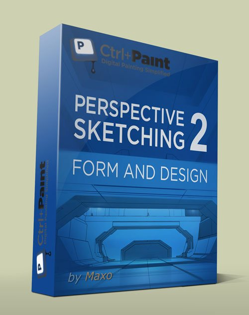 Ctrl+Paint – Perspective Sketching 2: Form and Design