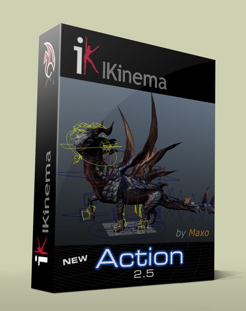 IKinema Action v2.5 for Maya 2013