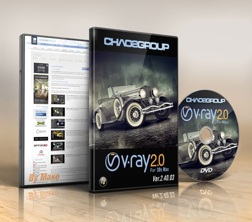 V-Ray 2.40.03 for 3ds Max 2009 – 2013 x86/64Bit