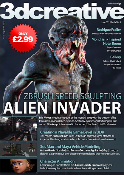3DCreative Issue 91 – March 2013