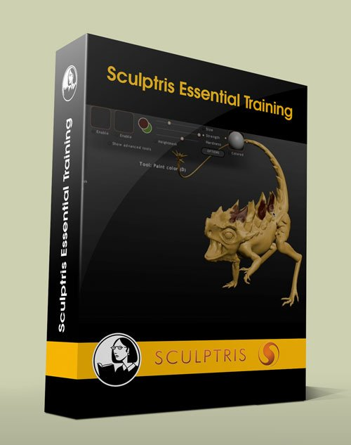 Sculptris Essential Training