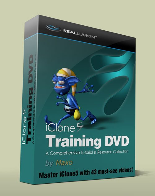 Reallusion iClone 5 Training DVD