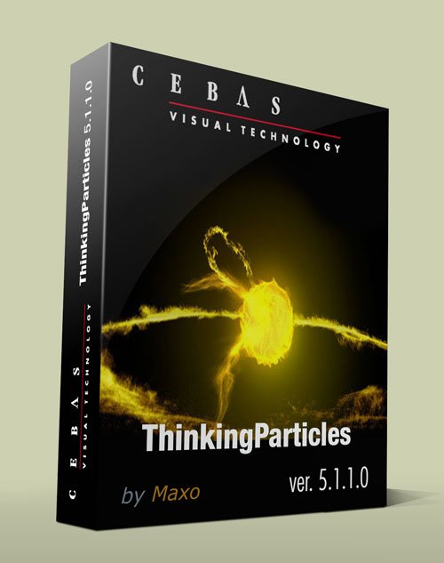 Cebas ThinkingParticles 5.1.1.0 for 3ds Max 2013