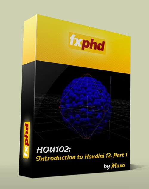 fxphd - HOU102: Introduction to Houdini 12, Part 1
