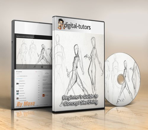 Digital - Tutors - Beginner's Guide to Concept Sketching