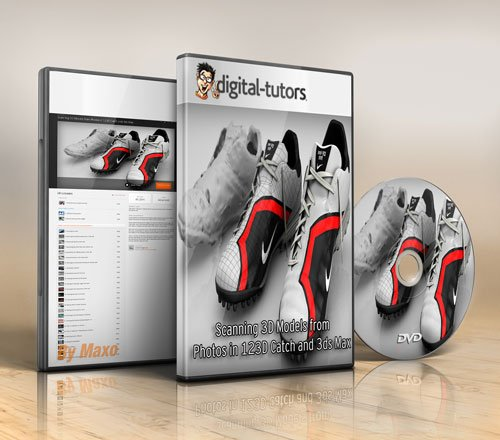 Digital - Tutors - Scanning 3D Models from Photos in 123D Catch and 3ds Max