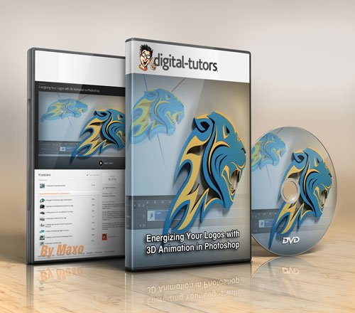 Digital - Tutors - Energizing Your Logos with 3D Animation in Photoshop