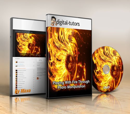 Digital - Tutors - Playing With Fire Through Photo Manipulation