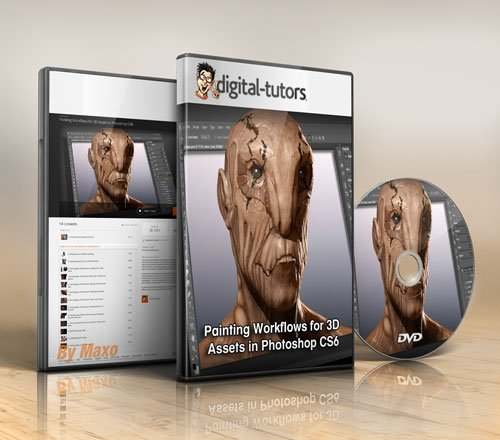 Digital - Tutors - Painting Workflows for 3D Assets in Photoshop CS6