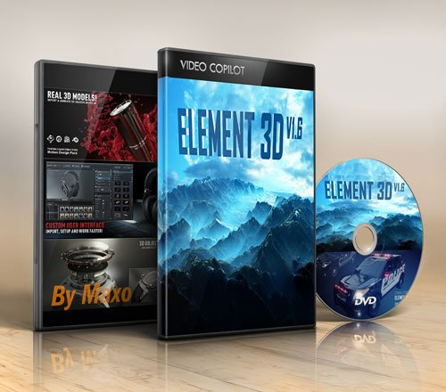 Video Copilot - Element 3D v1.6 Win + Content