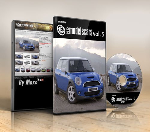 Evermotion HDModels Cars vol.5