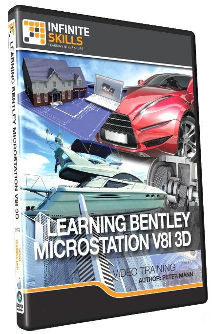 Learning Bentley MicroStation V8i 3D Training Video