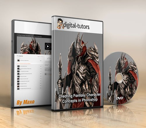 Digital - Tutors - Creating Fantasy Character Concepts in Photoshop