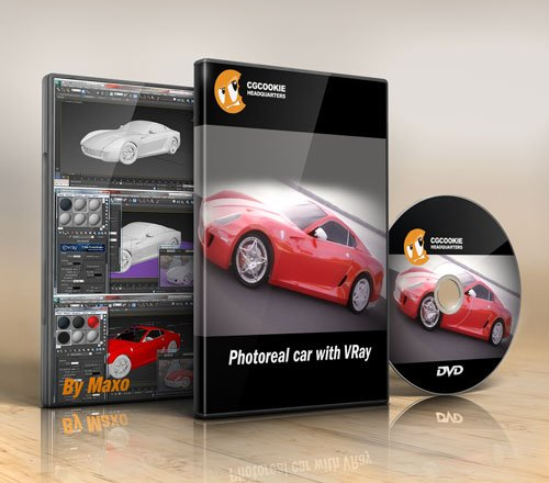 CGCookie : Photoreal Car with VRay