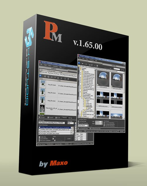 3d-kstudios Project Manager v.1.65.00 for 3ds Max 2009 – 2014