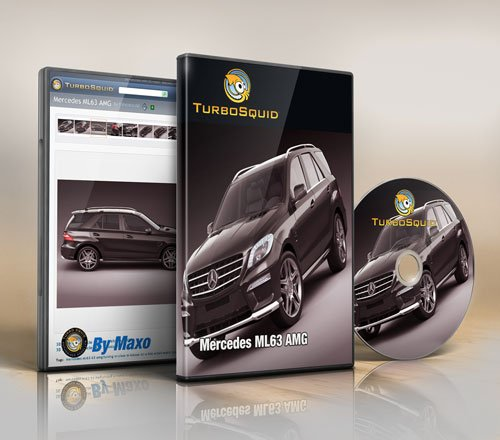 Turbosquid – Mercedes ML63 AMG