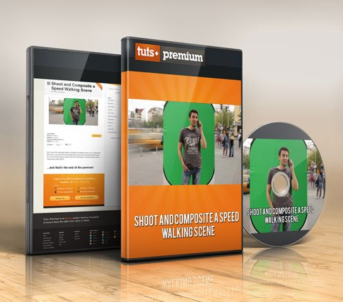 Tuts+ Premium – Shoot and Composite a Speed Walking Scene
