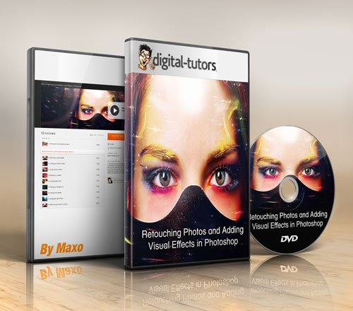 Digital - Tutors - Retouching Photos and Adding Visual Effects in Photoshop