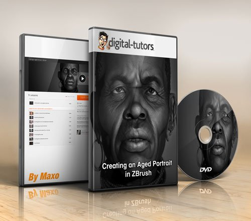 Digital - Tutors - Creating an Aged Portrait in ZBrush