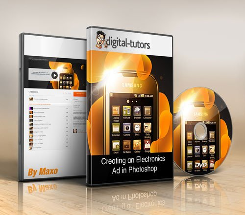 Digital - Tutors - Creating an Electronics Ad in Photoshop