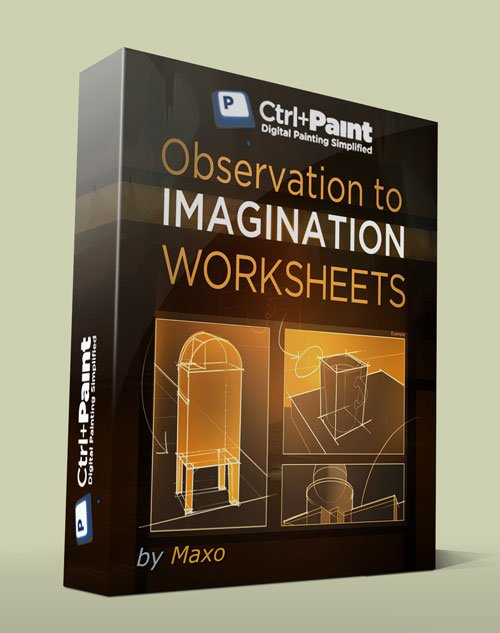 Ctrl+Paint – Observation to Imagination - Worksheets